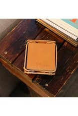Accessories OLD SOUTH Leather Coaster Set