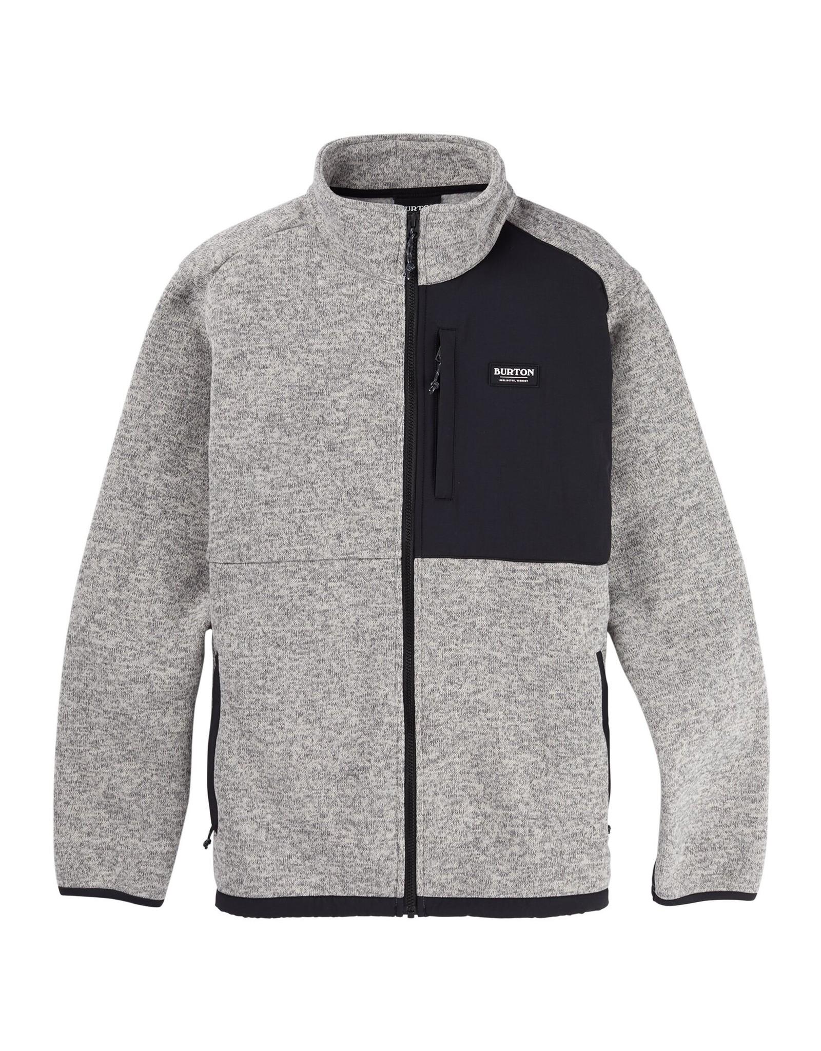 Burton Men's Burton Hayrider Sweater Full-Zip Fleece