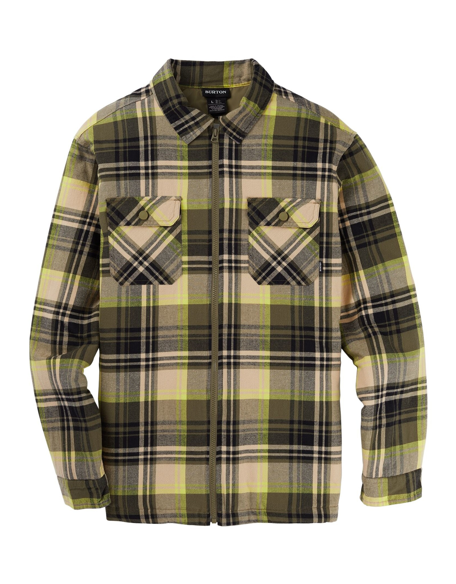 Burton Men's Burton Brighton Insulated Flannel