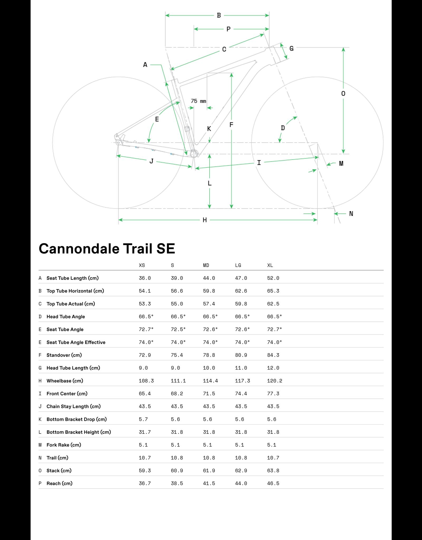 Cannondale 2021 Cannondale Trail SE 4 Purple Medium