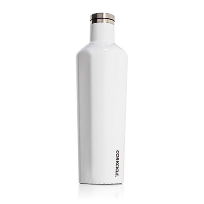 Corkcicle Gloss White Canteen - 25 oz.