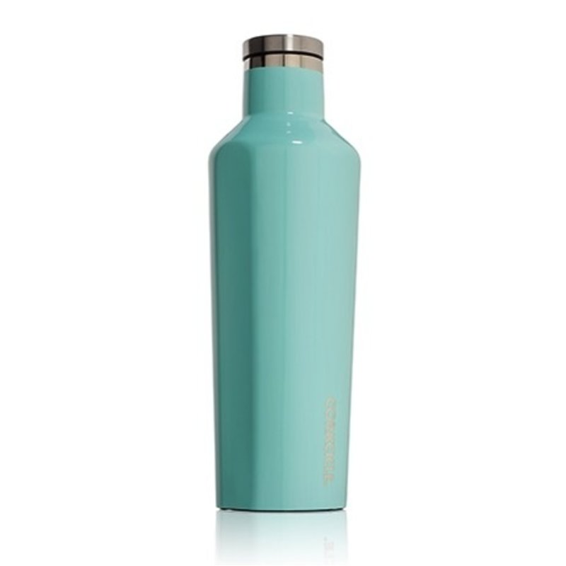 Corkcicle Gloss Turquoise Canteen - 25 oz
