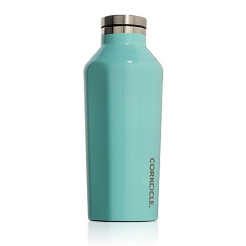 Corkcicle Corkcicle Gloss Turquoise Canteen - 16oz.