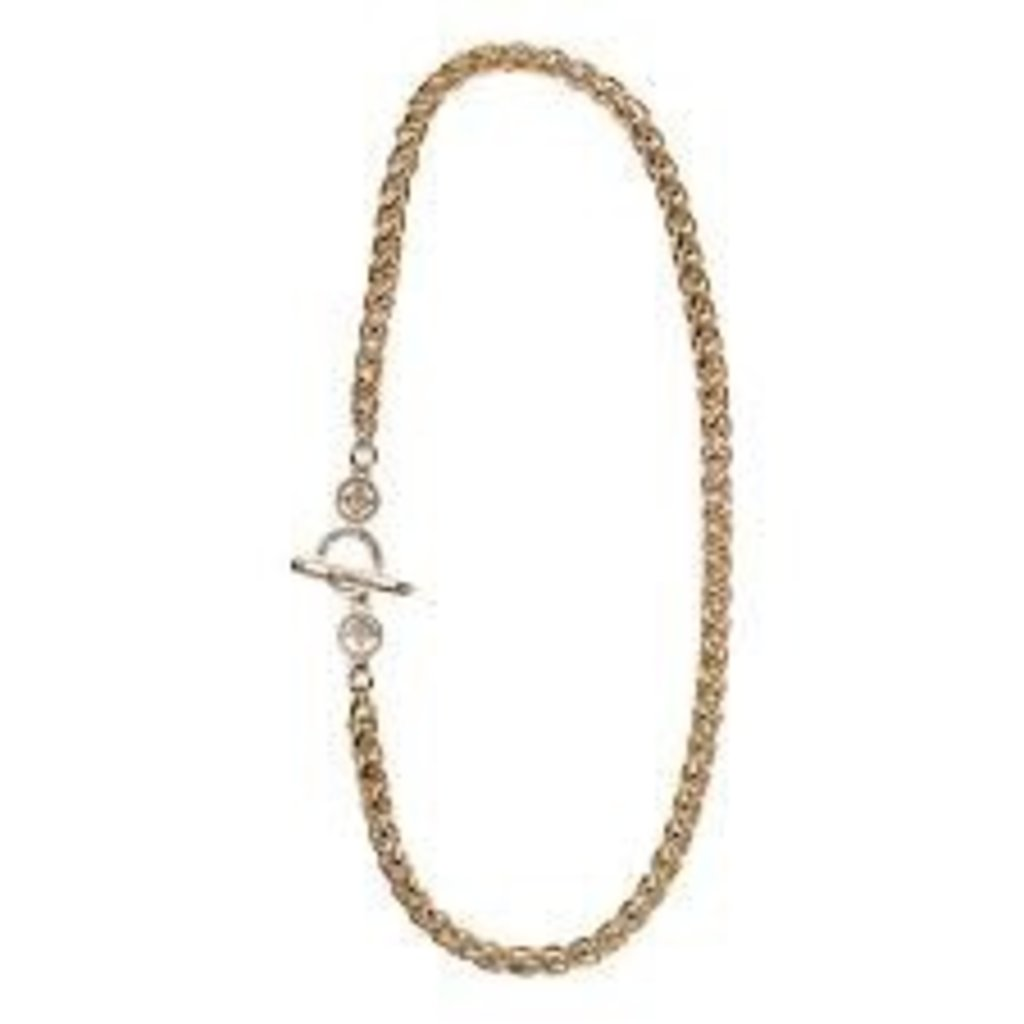 My Saint My Hero My Saint My Hero - Blessed Links Necklace - Gold (DISC)