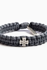 My Saint My Hero - Strength Bracelet - Slate/Silver