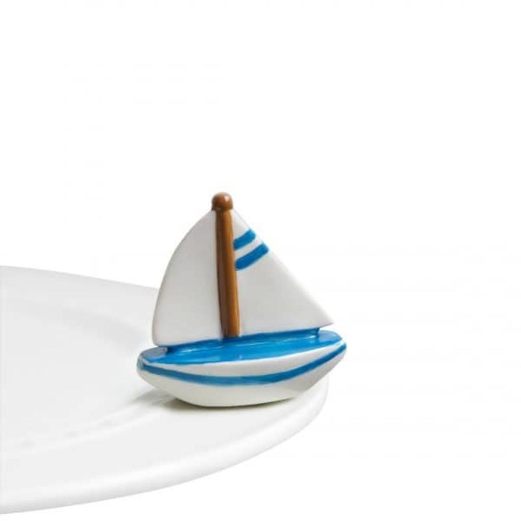 Nora Fleming - Sail Me Away - Sailboat Mini