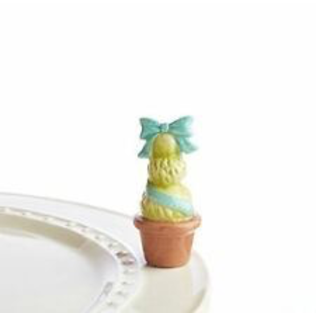 Nora Fleming - Garden of Joy - Blue Topiary Mini