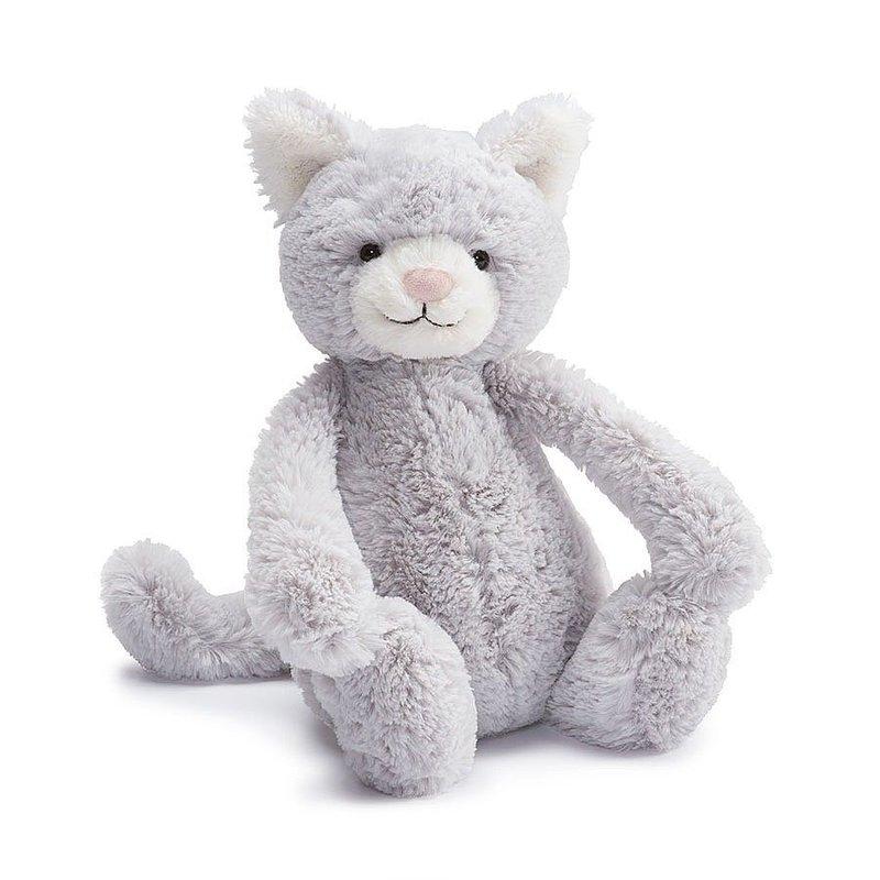 Jellycat Jellycat Bashful Grey Kitty
