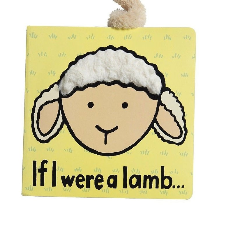 Jellycat Jellycat Book If I Were A Lamb