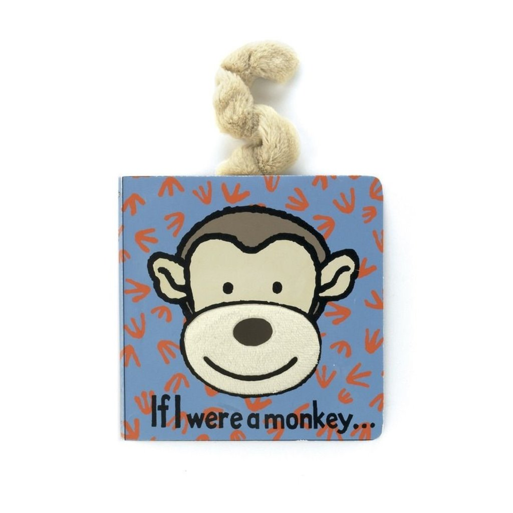 Jellycat Jellycat Book If I Were A Monkey Book