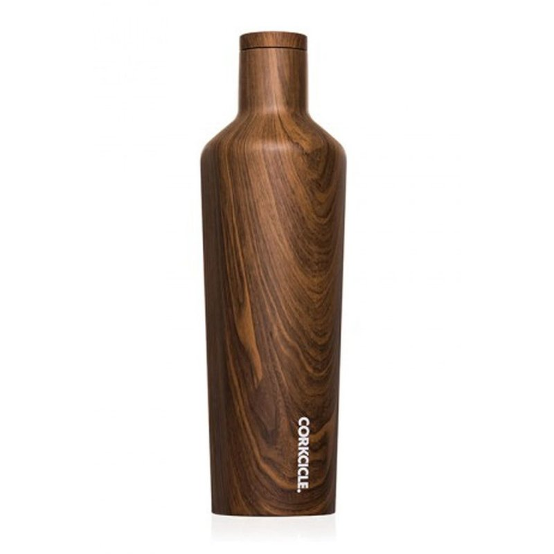 Corkcicle Corkcicle Walnut Wood Canteen - 16 oz