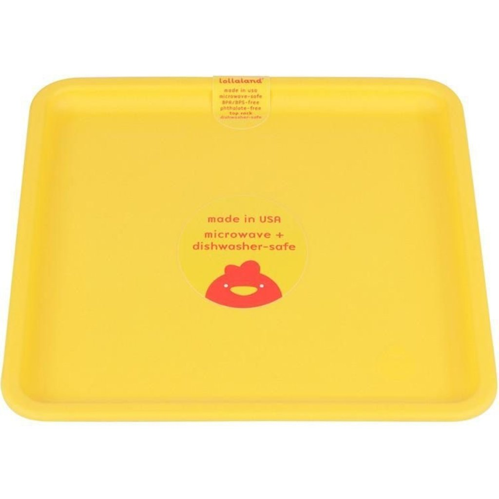 Lollaland Plate - Yellow