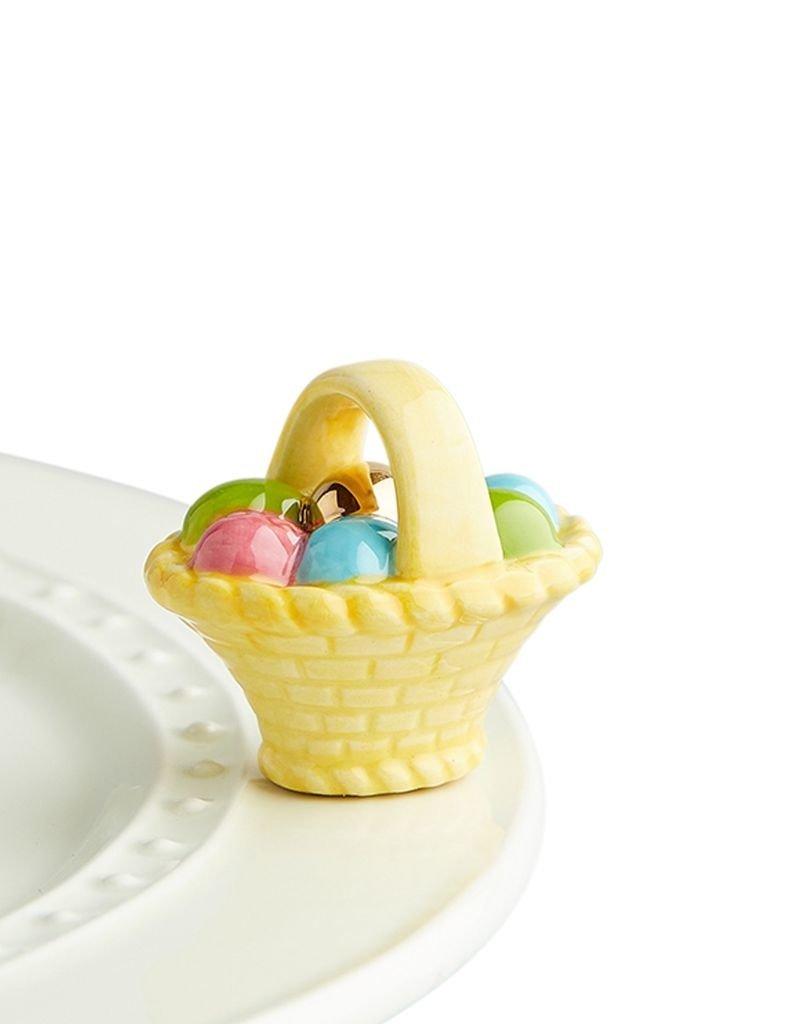 Nora Fleming - a Tisket a Tasket - Easter Basket Mini