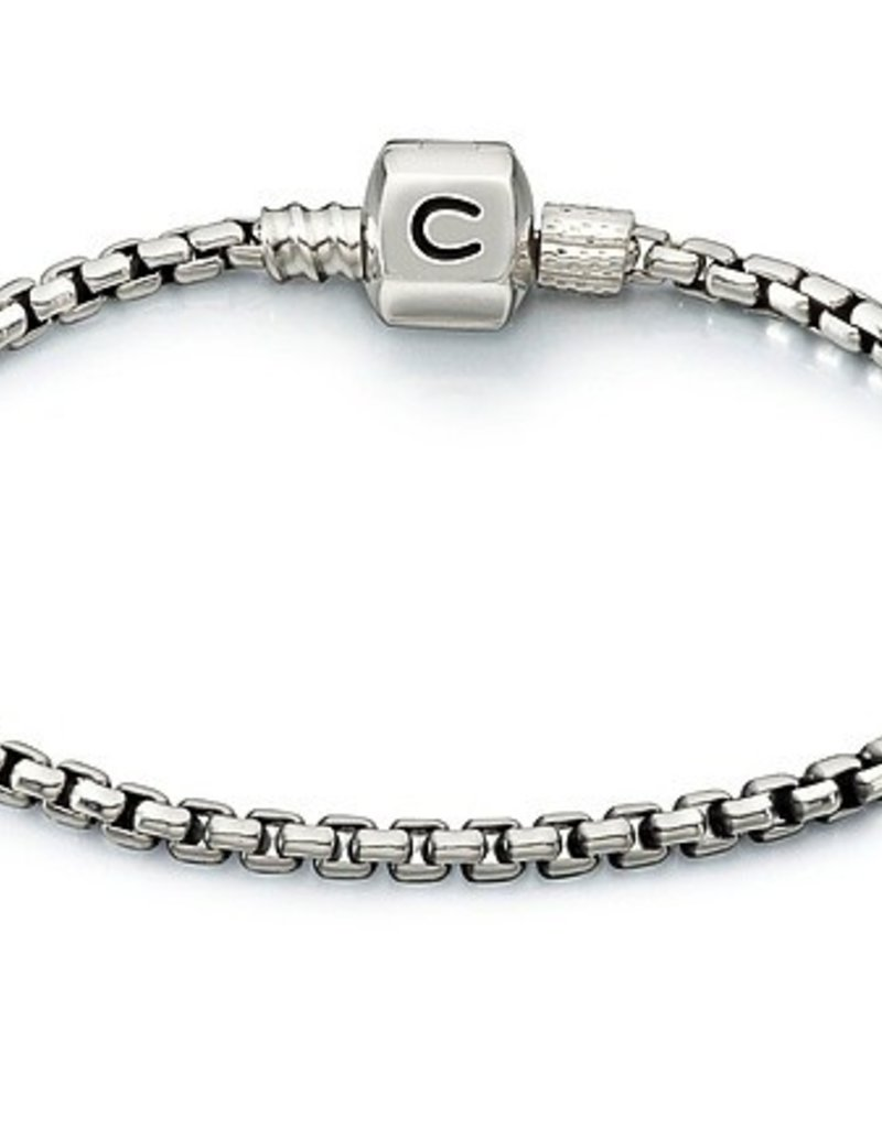 Chamilia Box Chain Bracelet - Oxidized (20cm/7.9 in)