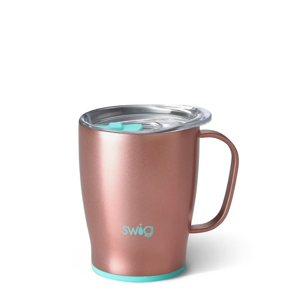 Swig 18 oz Mug-Rose Gold