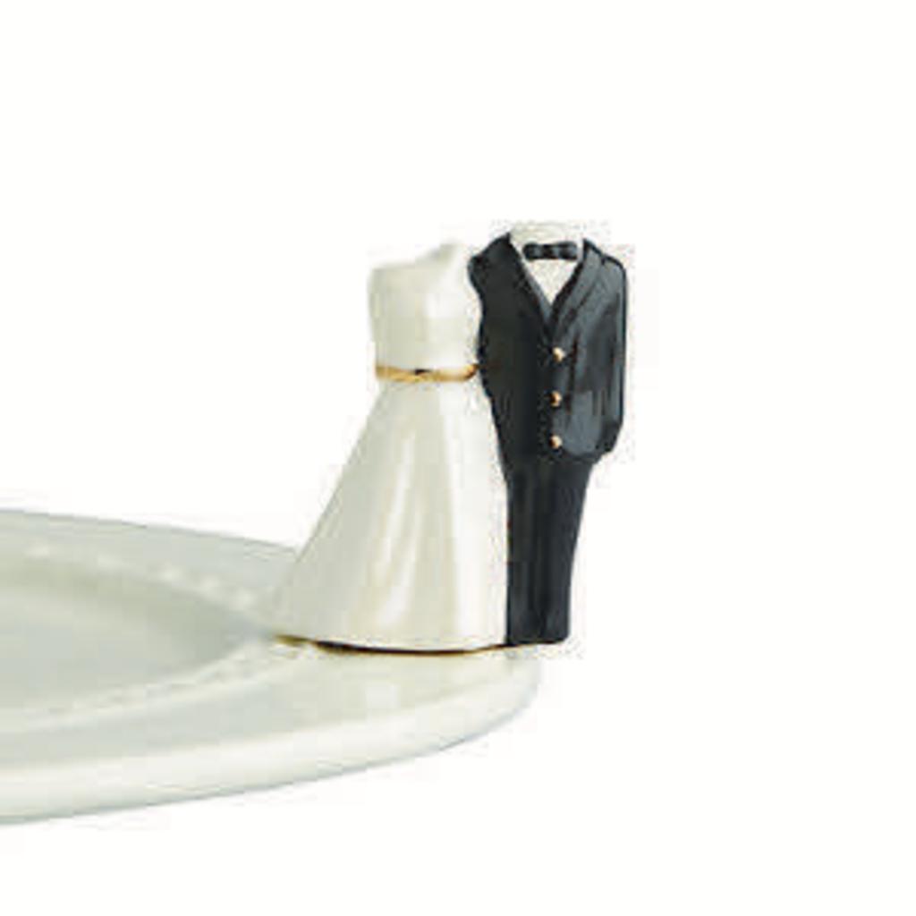 Nora Fleming Nora Fleming - Down the Aisle - Bride & Groom Mini