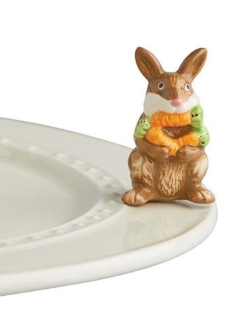 Nora Fleming - Funny Bunny- Brown Bunny Mini