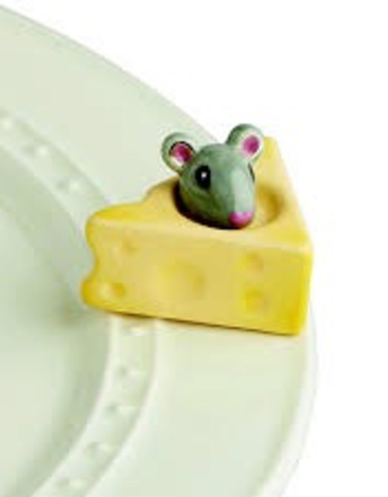 Nora Fleming - Cheese, Please! - Mouse & Cheese Mini