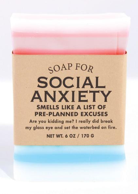 Whiskey River Soap Co. Social Anxiety Soap