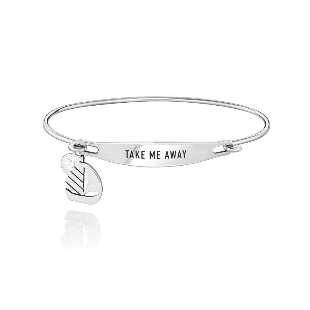Chamilia Chamilia Take Me Away ID Bangle - SS - M/L