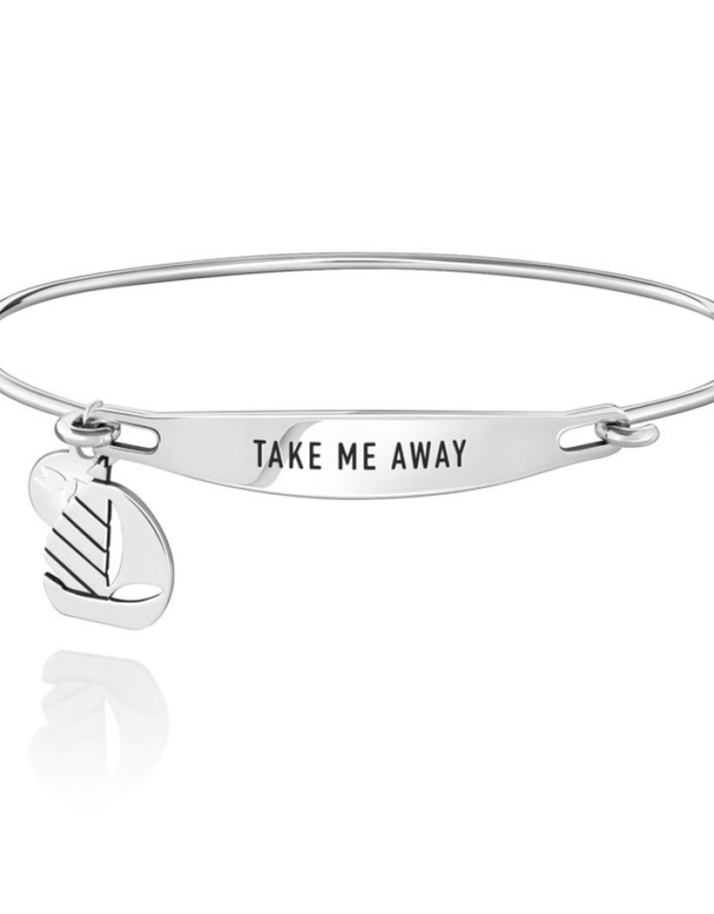 Chamilia Take Me Away ID Bangle - SS - S/M