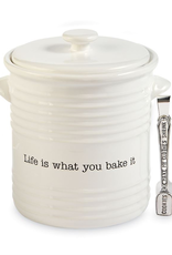 Mud Pie Cookie Jar Set