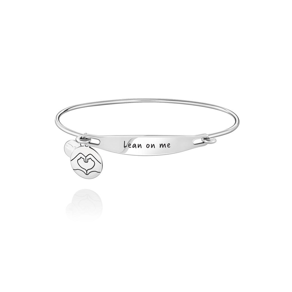 Chamilia Chamilia Lean On Me ID Bangle - SS - M/L