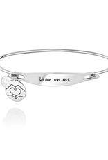 Chamilia Lean On Me ID Bangle - SS - M/L