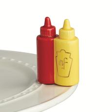 Nora Fleming Nora Fleming - Ketchup & Mustard Mini