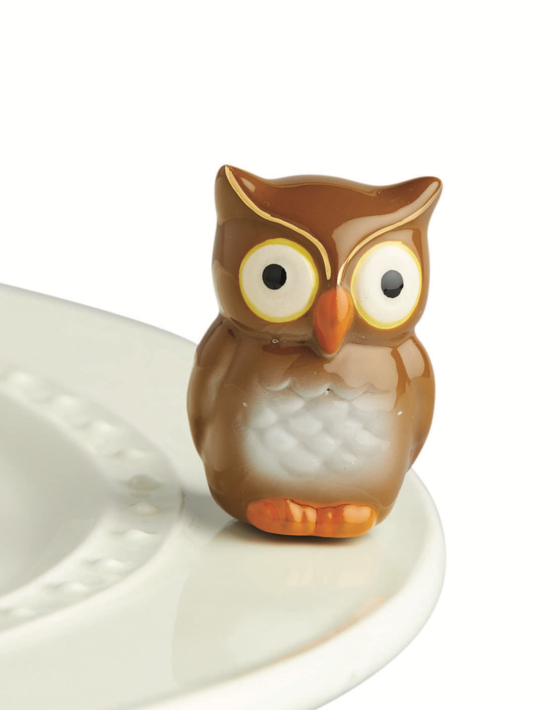 Nora Fleming - Be Whoo You Are - Owl Mini