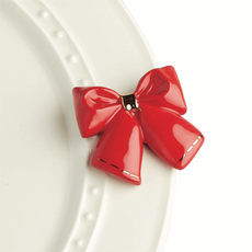 Nora Fleming - Wrap it Up - Red Bow Mini