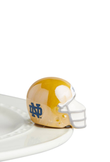 Nora Fleming Nora Fleming - Notre Dame Helmet Mini