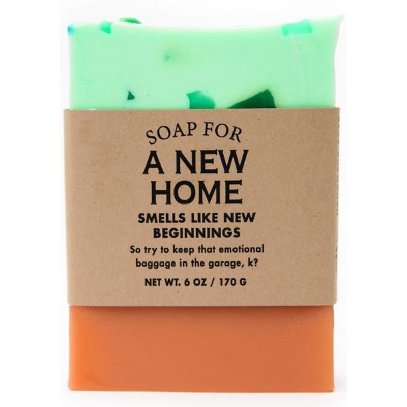 Whiskey River Soap Co. A New Home Soap
