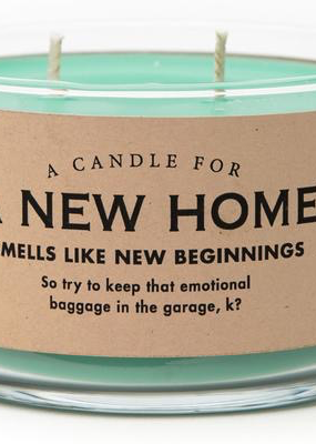 Whiskey River Soap Co. A New Home Candle
