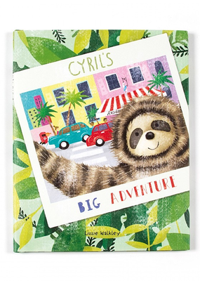 Jelly Cat Cyril's Big Adventure Book