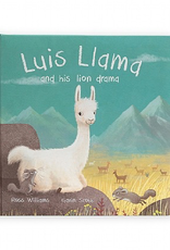 Jellycat Luis Llama and His Lion Drama Book