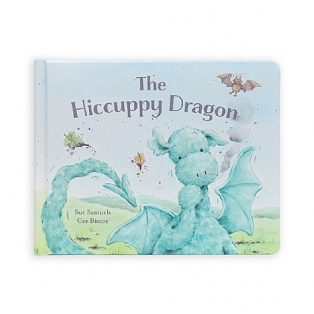 Jellycat Jellycat The Hiccuppy Dragon Book