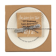 Mud Pie Reserved Hors D'Oeuvres Set