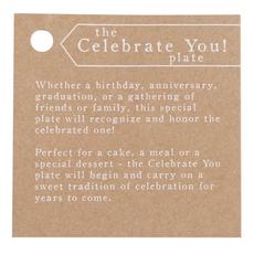 Mud Pie Celebrate You Plate