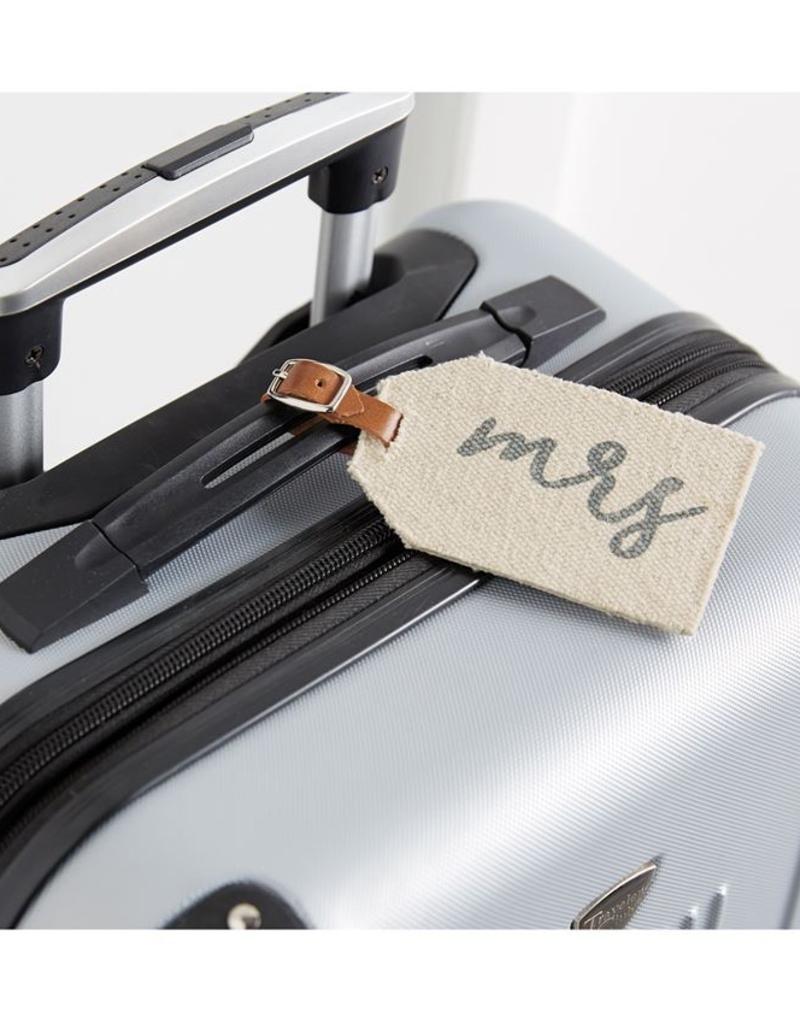 Mud Pie Mr. & Mrs. Luggage Tags