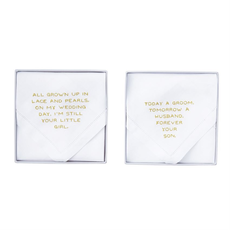 Mud Pie Mud Pie Forever Your Girl Wedding Handkerchief