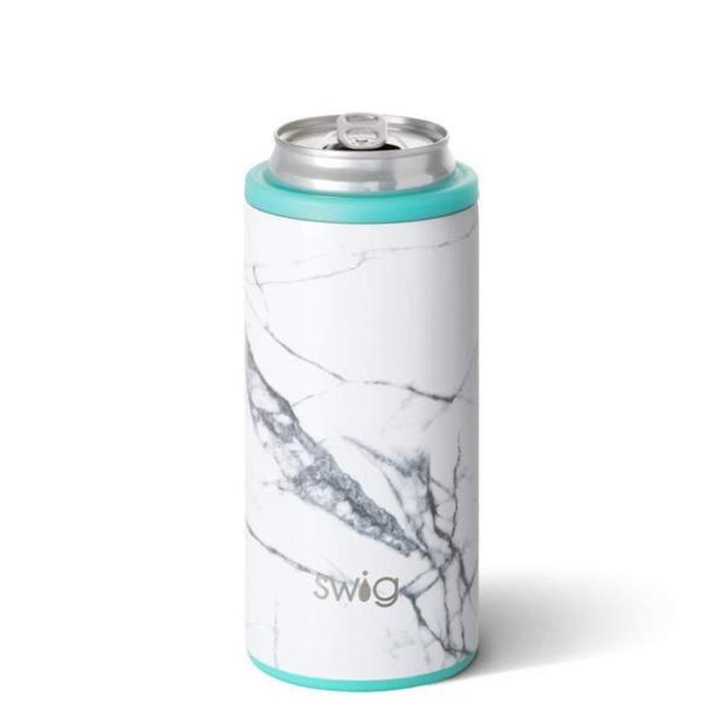 Swig Skinny Can Cooler  - Marble Slab
