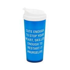 About Face Designs: #Nurselife Travel Mug