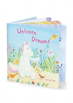 Jelly Cat Unicorn Dreams Board Book