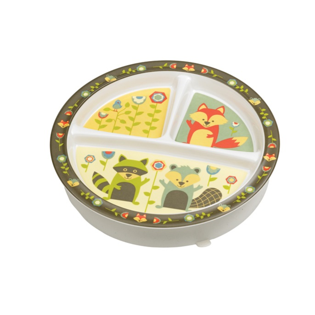 ORE Originals Divided Suction Plate What Did the Fox Eat