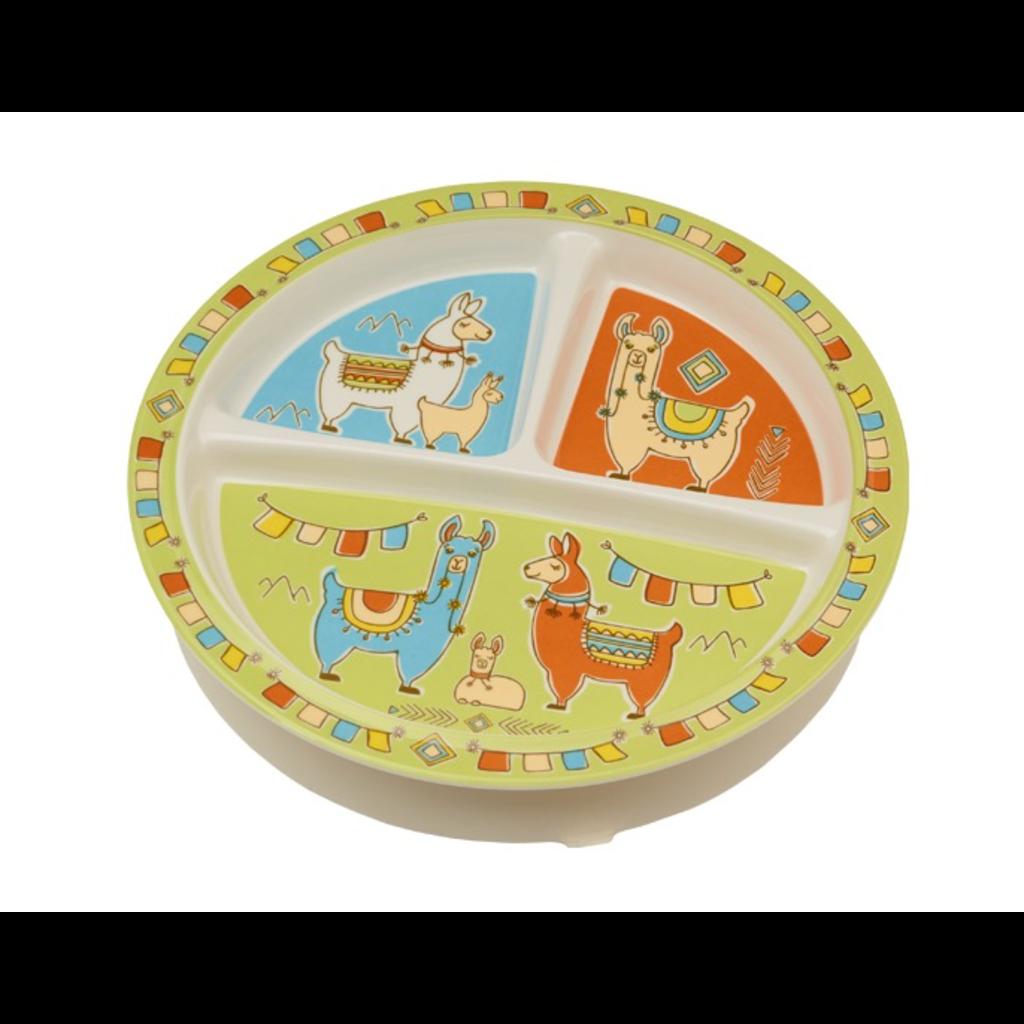 Ore Originals Divided Suction Plate Mama Llama