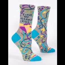 Blue Q Blue Q I Love My A**hole Kids Women's Socks