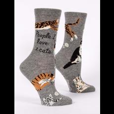 Blue Q Blue Q People I Love: Cats Women's Socks