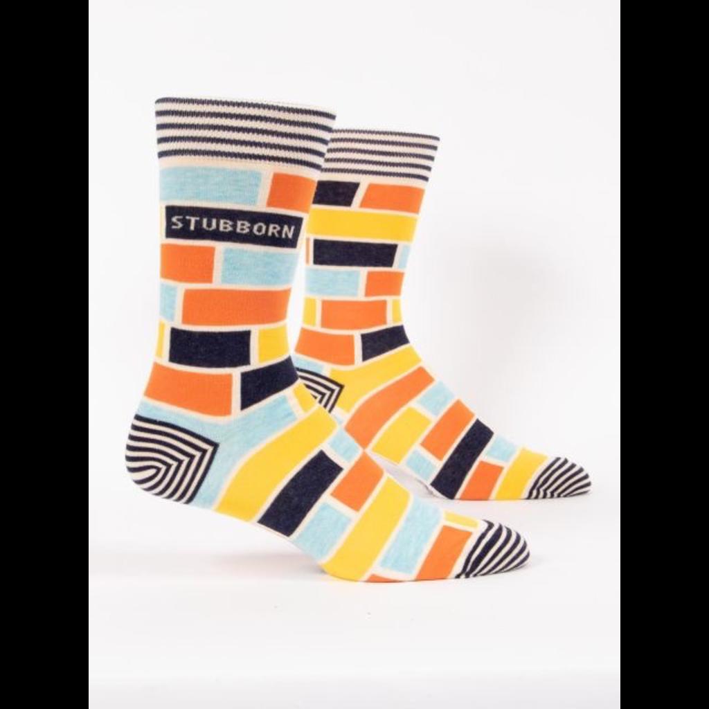 Blue Q Blue Q Stubborn Men's Socks