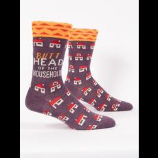 Blue Q Butthead Men's Socks